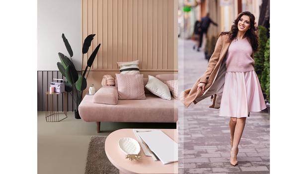 Stylish woman: pink & glam