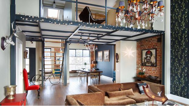 Świąteczny loft pełen blasku