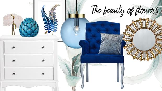 Botanical blue