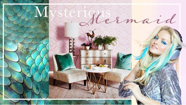 Styl: Mysterious Mermaid