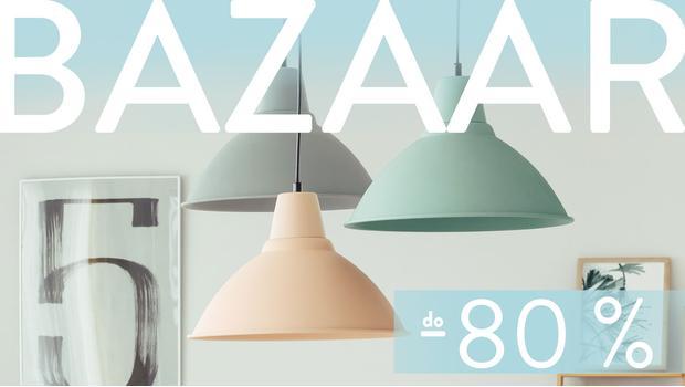 Baazar: lampy sufitowe