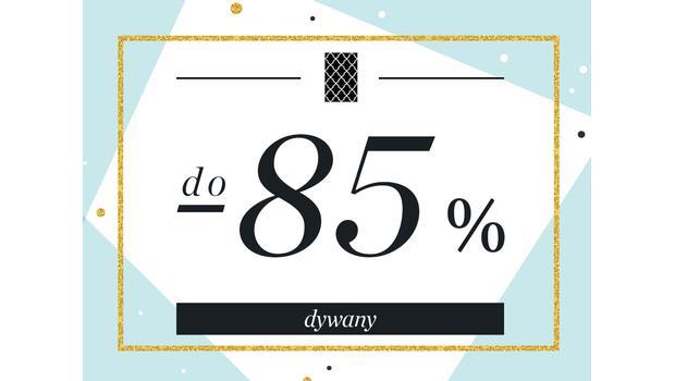 Dywany do -85%