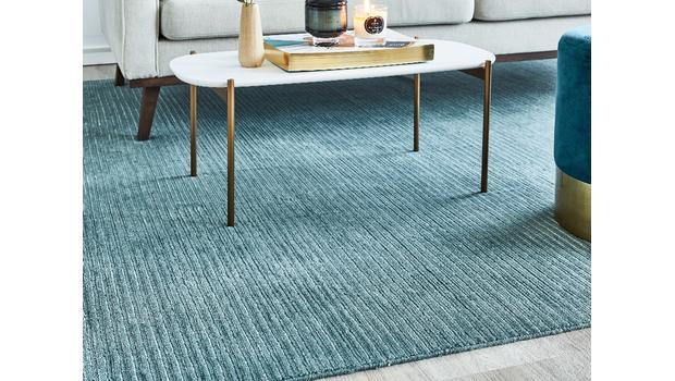 Połyskujące dywany