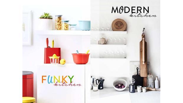 Kuchnia: Funky vs. Modern