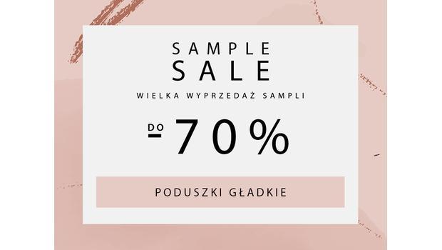 SAMPLE SALE  Poduszki gladkie