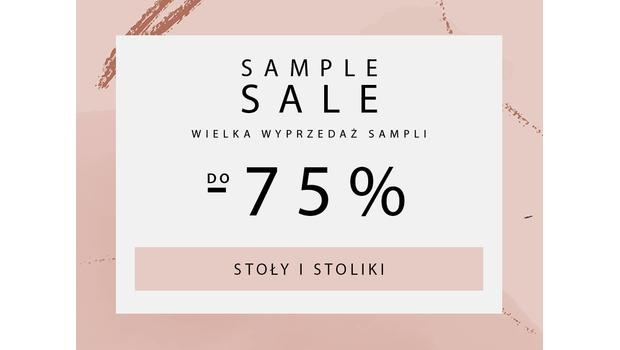 SAMPLE SALE Stoly i stoliki