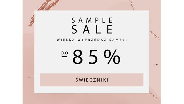 SAMPLE SALE Swieczniki
