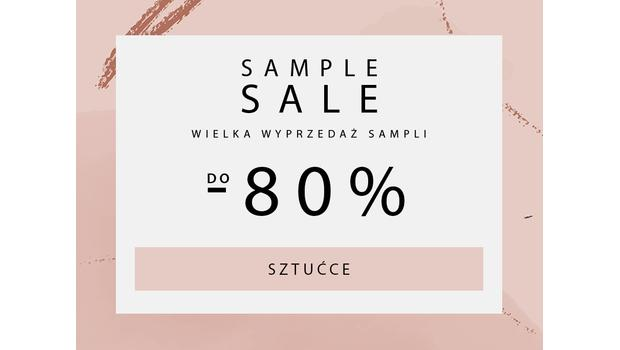 SAMPLE SALE Sztucce
