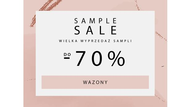 SAMPLE SALE  Wazony
