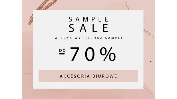 SAMPLE SALE Akcesoria biurowe