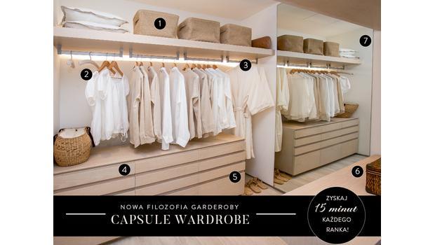 Garderoba w 7 krokach