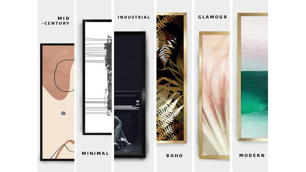 Dekoracje ścienne w 6 stylach