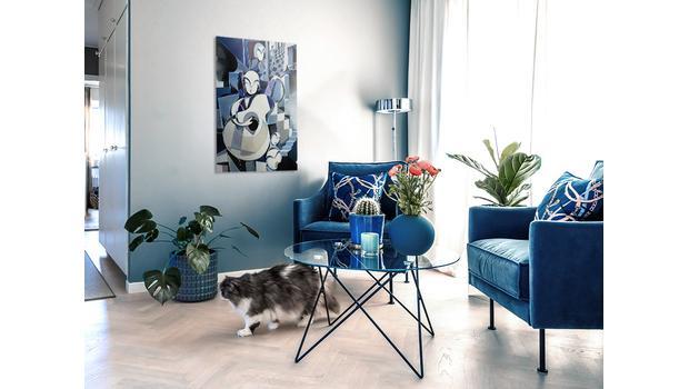 Classic Blue w Twoim domu