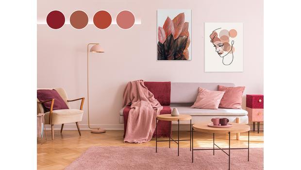 Color palette: Terra Rosa