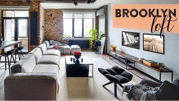 Szykowny loft na Brooklynie