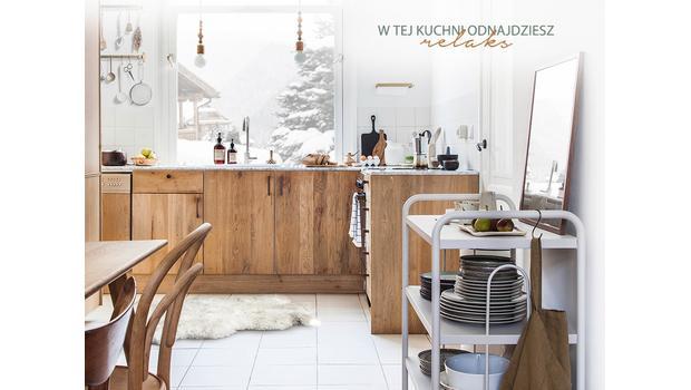 Kuchnia w stylu Chalet