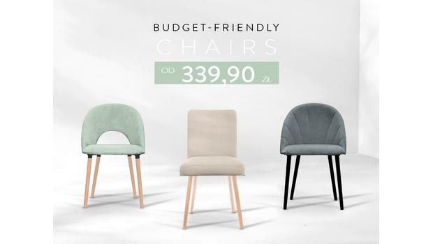 Budget-friendly chairs