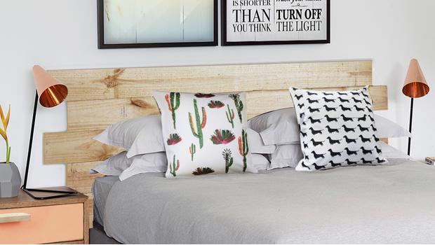 Scandi bedroom