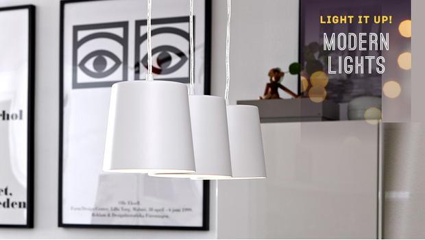 Lampy modern