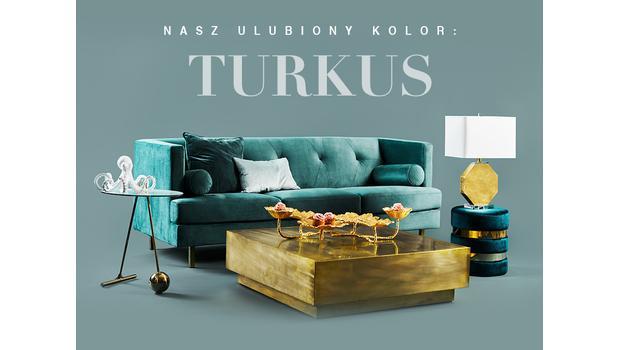 Ten kolor nas zachwyca: turkus