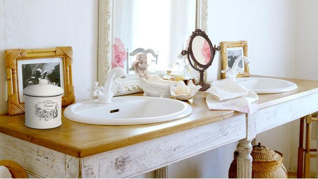 Łazienka w kobiecym stylu