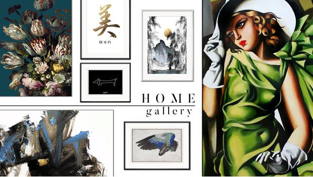 Domowa galeria sztuki
