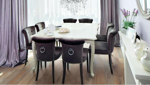 Glamorous chairs