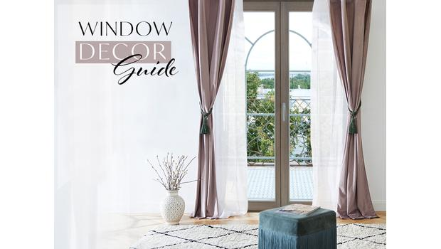 Jak dekorować okno