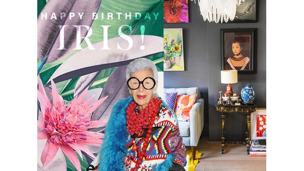 Happy Birthday Iris Apfel!