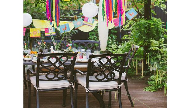 Perfekcyjne przyjęcie ogrodowe
