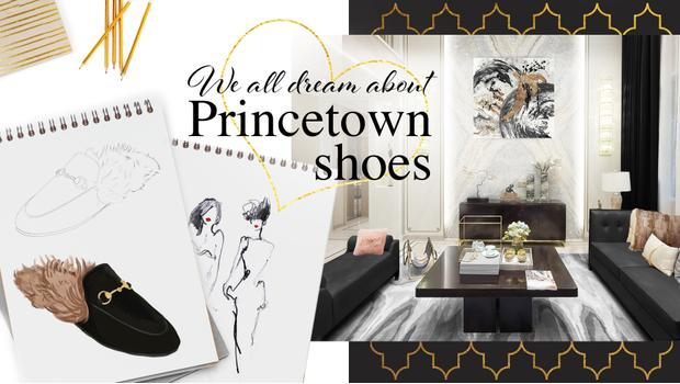 Inspired by Princetown shoes