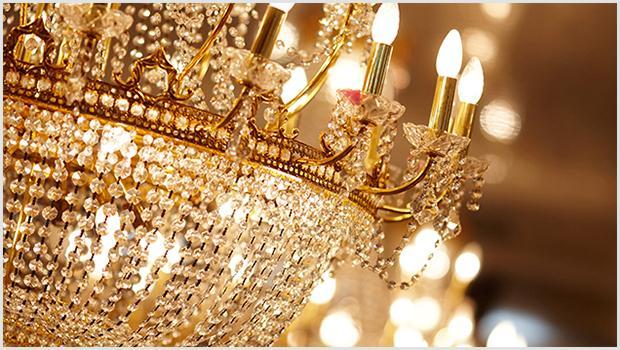Lampy jak z pałacu