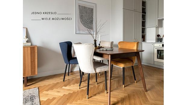 Kolekcja krzeseł Monti