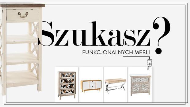 Funkcjonalne komody i biurka