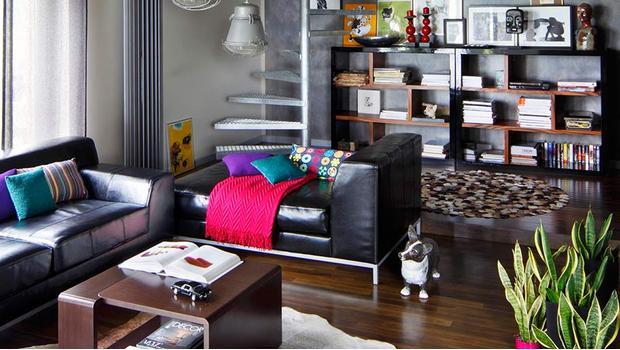 Kolorowy loft