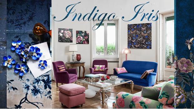 Trend: Indigo iris