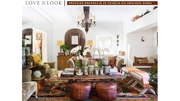 Salon w stylu orient elegant