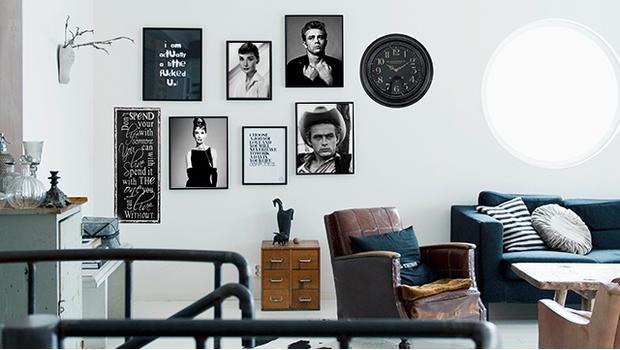 Loft black & white