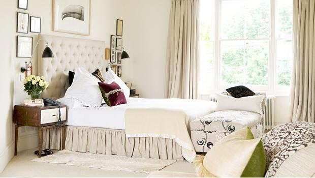 Sypialnia pełna delikatności