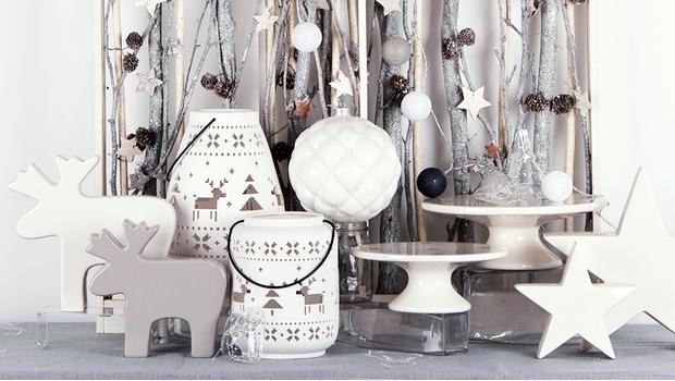 Święta w bieli i srebrze