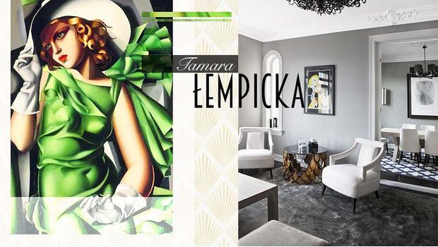 Zainspirowani Tamarą Łempicką