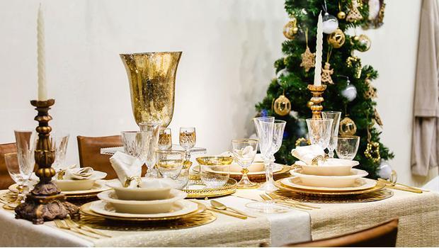 White & Gold Christmas