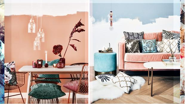 Color trend: navy & coral