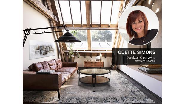 Loft według Odette Simons