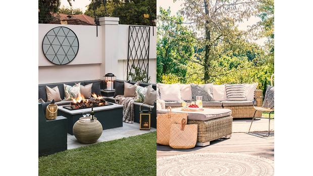 Ogród w dwóch stylach