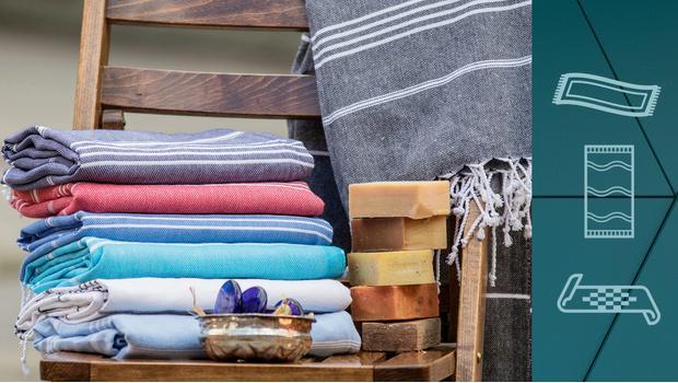 Pastemale i ręczniki plażowe