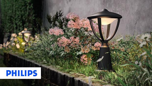Ogród z marką Philips