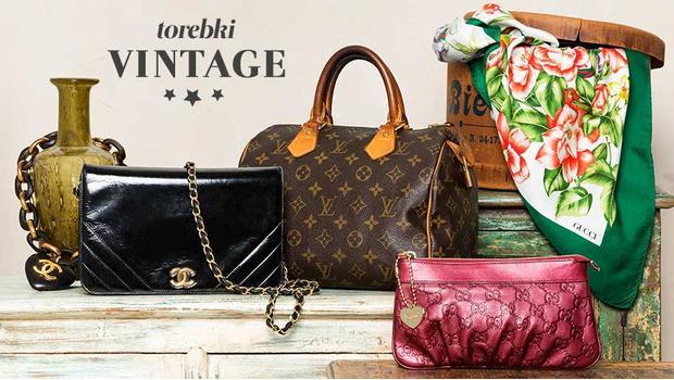 Fantastyczny Oryginalne torebki vintage Prada, Fendi, Ferragamo, Dior, LV WD71