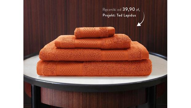 Ręczniki od projektanta mody
