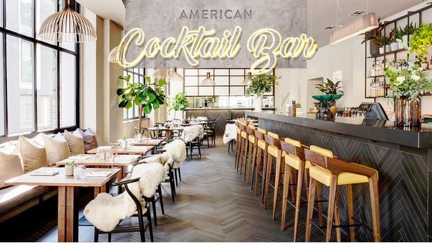 W stylu American Cocktail Bar